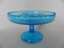 Cookie Server Footed turquoise