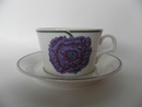 Illusia Tea Cup and Saucer Arabia