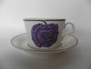 Illusia Tea Cup and Saucer Arabia