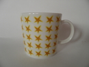 Yellow Stars Mug Arabia