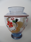Vase handpainted Riihimäen lasi SOLD OUT