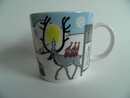 Moomin Mug Winter Forest