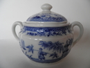 Singapore Sugar Bowl blue Arabia SOLD OUT