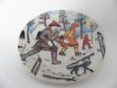 Ceramic Plate A. Alariesto Arabia