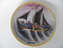 Ceramic Plate A. Alariesto Arabia SOLD OUT