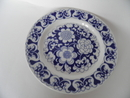 Gardenia Side Plate blue SOLD OUT