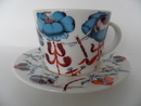 Korento Coffee Cup and Saucer blue Iittala