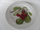 Pomona Portmeirion lautanen 18,7 cm Tumma kirsikka