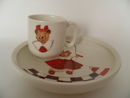 Viivi Children's Plate and Mug Minna Immonen