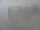 Grapponia Dessert Bowl clear glass