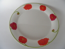 Illusia Dinner Plater red Arabia SOLD OUT