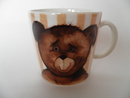 Teddy Bear Mug Toivo Arabia