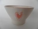 Bowl Heart pink Pentik
