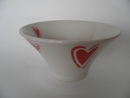 Bowl Heart red Pentik