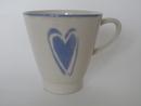 Mug lightblue Heart Pentik