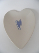 Plate with Heart shape  Pentik