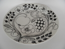 Paratiisi Dinner Plate black-white Arabia