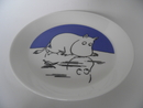 Moomin Plate Moomintroll on Ice