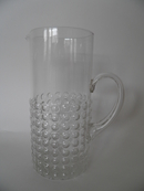 Grappo Pitcher clear glass