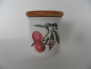 Pomona Portmeirion Spice Jar Peach Persikka