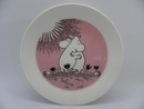 Moomin Plate Love 2-side