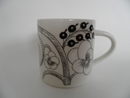 Paratiisi Mug black-white Arabia