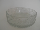 Grapponia Serving Bowl clear glass
