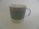 Stripe Blue-Green Mug Arabia