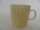 Square yellow Mug Arabia