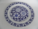 Gardenia Dinner Plate blue SOLD OUT