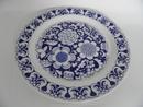 Gardenia Dinner Plate blue
