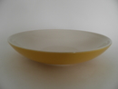 Olive Pasta Plate yellow