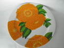 Primavera Serving Plate orange