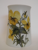 Yellow Violets Vase HLA