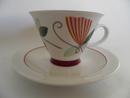 Harlekin Carneval Coffee Cup and Saucer Arabia
