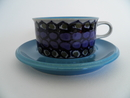 Tea Cup and Saucer blue Hilkka-Liisa Ahola