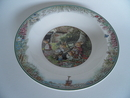 Foxwood Tales Soup Plate Summer V&B SOLD OUT