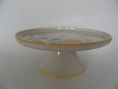Apple Footed Serving Plate Pentik