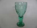 Tutti Frutti Green Wine Glass