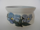 Bowl blue Violets Hilkka-Liisa Ahola