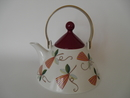 Harlekin Carneval Tea Pot Arabia SOLD OUT