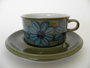 Tea Cup and Saucer Retro Hilkka-Liisa Ahola