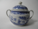 Singapore Sugar Bowl blue Arabia