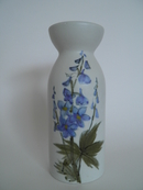 Vase Blue Flowers HLA