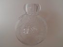 Tellus Bottle clear glass