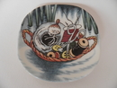 Moomin Wall Plate Snap in Sewing Basket