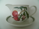 Pomona Portmeirion Sauce Pitcher and Saucer
