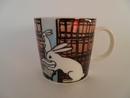 My Library Bunny Mug H L-S