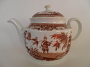 Singapore Tea Pot brown Arabia