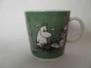 Moomin Mug Dark Green Arabia SOLD OUT